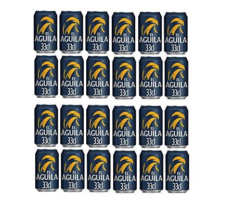 El Aguila 1900 Lager Bier (Pack 36 Dosen x 330ml) bier geschenk, biere der welt, bier set, budweiser bier, geschenk set, geschenke für männer, höhle der löwen produkte