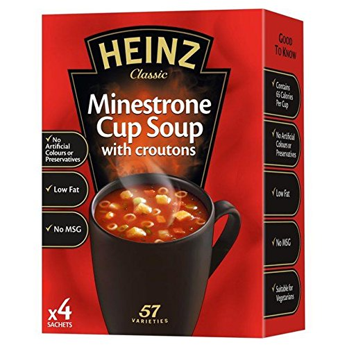 favorite Heinz Minestrone Dry Over item handling Cup 72g Soup -