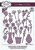 Creative Expressions Craft Die Elegant Arrangement Fustelle da Taglio in Metallo - Taglia su Carta, Cartone, Feltro, Tessuto - Compatibili con Macchina Fustellatrice - Goffratura, Album