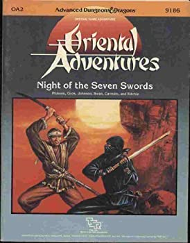 OA2 Night of the Seven Swords - Book  of the Advanced Dungeons and Dragons Module #C4