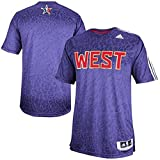 adidas Western Conference Adult NBA All Star Game Shooter (X-Large) Purple