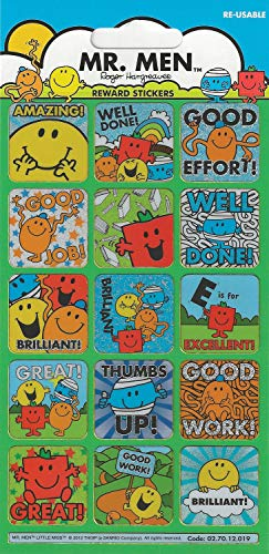Paper Projects Mr Men Foiled Reward Stickers by Paper Projects