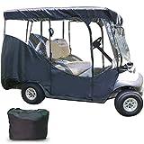 Best Golf Cart Enclosures - BotaBay Golf Cart Enclosure, 4-Person Golf Cart Cover Review