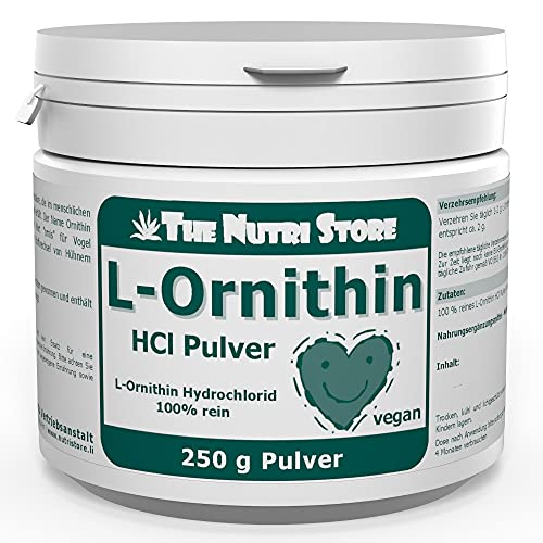 L-ORNITHIN HYDROCHLORID rein Pulver 250 g Pulver