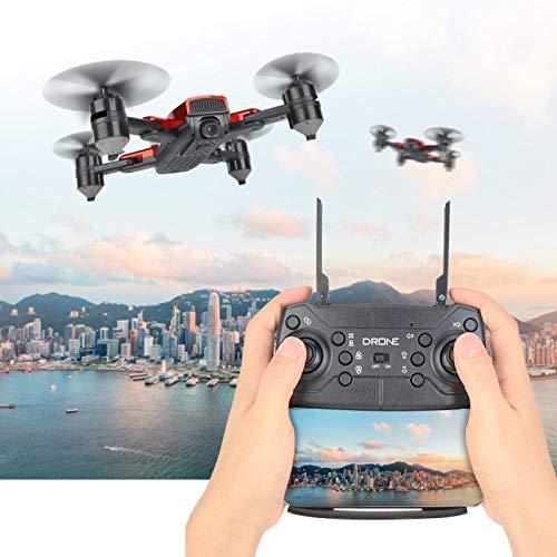 DAUERHAFT RC Drone Cuadricóptero de Alta definición Cuadricóptero RC Foto de Gran altitud(2 Million (720P) Camera)