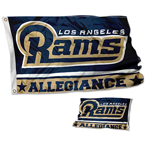 WinCraft Los Angeles Rams Double Sided Allegiance Flag