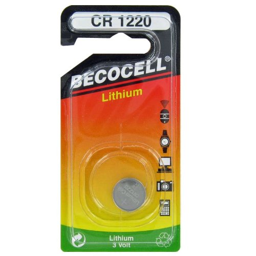 Batterie au lithium cR1220 becocell