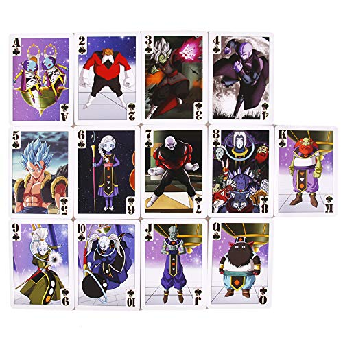 Juego de Cartas Dragon Ball Poker World Colection,baraja de Cartas de Poker...