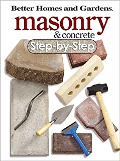 Masonry & Concrete Step-by-Step (Better Homes & Gardens Do It Yourself)