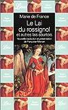 Marie de France - Le Lai du rossignol et autres lai courtois
