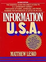Information U.S.A.: Revised Edition (Lesko's Info-power)