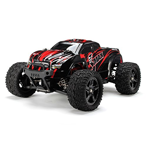 New REMO 1631 1/16 2.4G 4WD Brushed Off-Road Monster Truck SMAX RC Car by KTOY