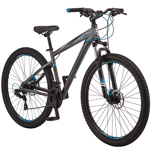 Mongoose Impasse HD Mens Mountain Bike, 18-inch Frame, 29-inch Wheels, Disc Brakes, Charcoal