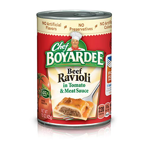 Chef Boyardee Beef Ravioli 4-Pack Now $3.48