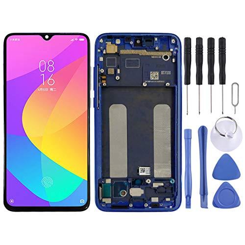 GGAOXINGGAO Pantalla de reemplazo del teléfono móvil Pantalla LCD y Conjunto Completo de digitalizador con Marco para Xiaomi Mi CC9 Accesorios telefónicos