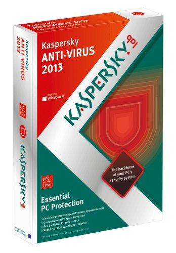Kaspersky Anti-Virus 2013 3 Users, 1 Year [import anglais]