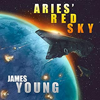 Aries' Red Sky: A Vergassy Universe Novel audiobook cover art