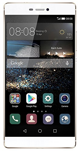 Huawei P8 Smartphone (5,2 Zoll (13,2 cm) Touch-Display, 16 GB Speicher, Android 5.0) ,Mystic Champagne, (Generalüberholt)