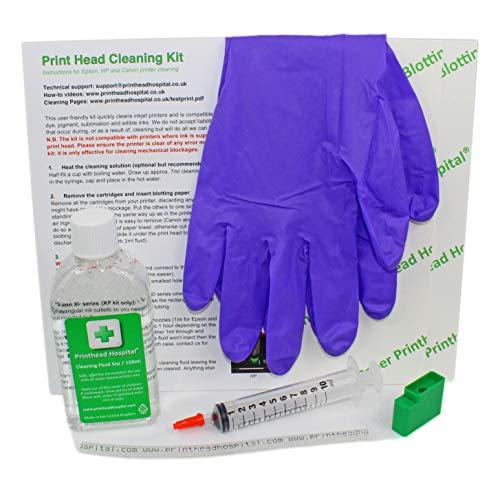 Detergente testina di stampa per stampanti Epson Expression Premium XP500 XP600 XP700 XP800 XP900 Series – 150 ml