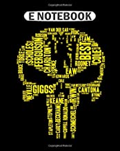 Notebook: manchester united for mucn supporter  College Ruled - 50 sheets, 100 pages - 8 x 10 inches