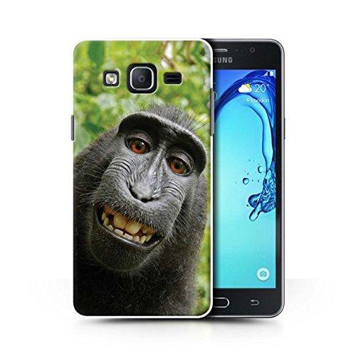 Stuff4 Hülle/Hülle für Samsung Galaxy On5/G550 / Selfie-Pavian Muster/Lustiges Tier Meme Kollektion