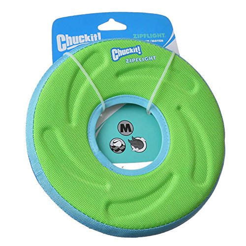 Chuckit Zipflight Frisbee-Hundespielzeug , Mittel 21cm