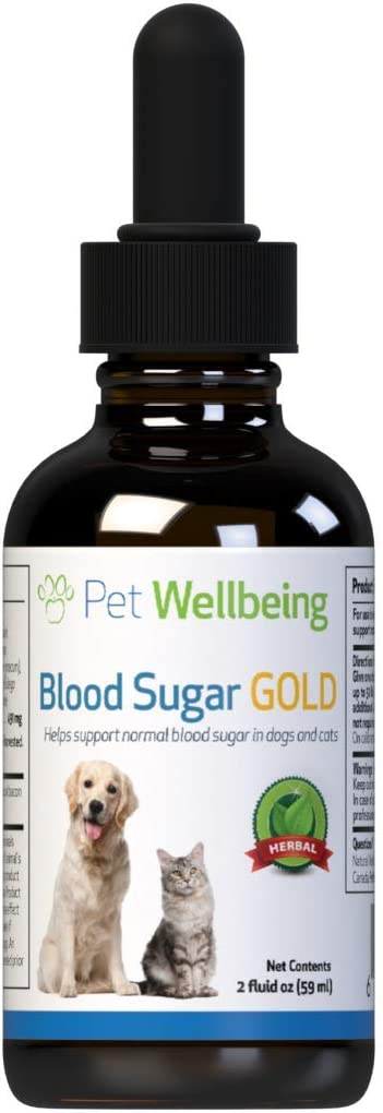 National uniform free shipping Free shipping Pet Wellbeing Blood Sugar Gold for He Support - Cats Natural