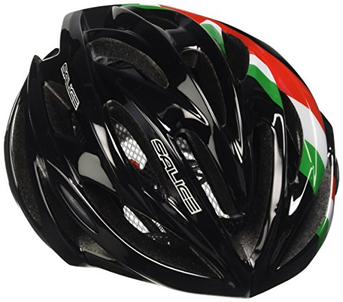 Salice Ghibli Casco de Ciclismo, Unisex Adulto, Negro, 58-62 cm