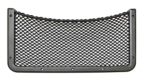 Framed Stretch Mesh Net Pocket for Auto, RV, or Home Organization and Storage (8' x 16')