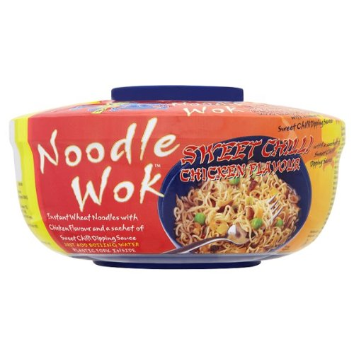 Blue Dragon Noodle Wok Sweet Chilli Chicken Flavour - 6 x 76gm