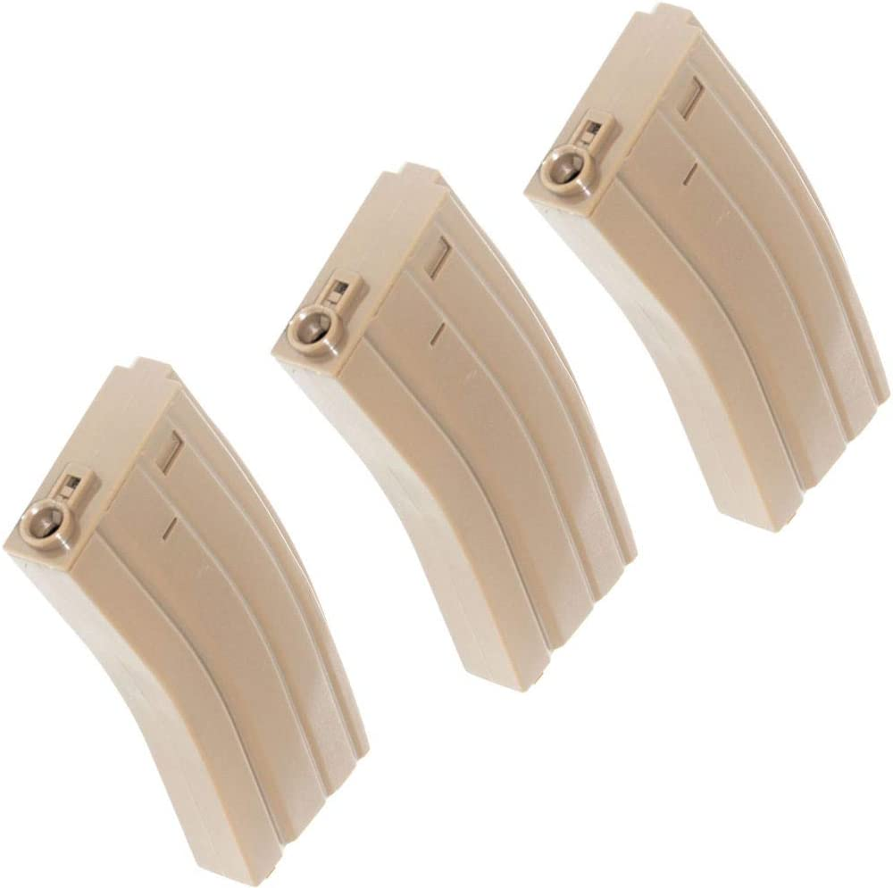 Airsoft Quality inspection Spare Parts We OFFer at cheap prices 3pcs 140rd Magazine Mag for Plastic Mid-Cap