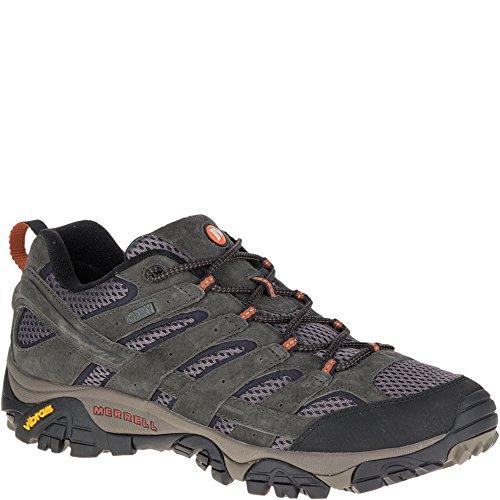 Merrell Men's Moab 2 Waterproof Hiking Shoe, Beluga, 13 M US