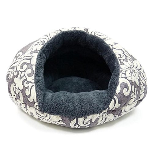 DOGO Burger Bed Small Dog Snuggle Bed - Vintage