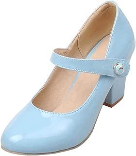 JOJONUNU Women Mary Jane Pumps Shoes