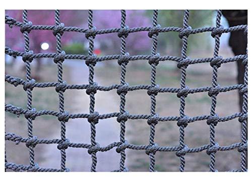 Best Bargain LYRFHW Safety Netting Outdoor Training Development Protection Nets, Children's Anti-Fall Net Balcony Stair Rope Net Playground Kindergarten Protective Net (14mm, 15cm)