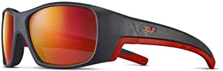 Julbo - J5261120 - Gafas de sol para bebé, unisex, color gris oscuro y rojo, 6-10 años