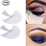 Urdhva Retail 50 Pcs Eyeshadow Shields Professional Lint Free Under Eye Eyeshadow Gel