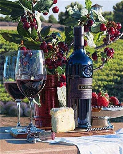 Puzzles y rompecabezas Rompecabezas 3000 Pieza de rompecabezas para adultos Cottage Cornwall London Rompecabezas 3D de madera Copas de vino tinto y vino DIY Arte moderno Decoración para el hogar 300