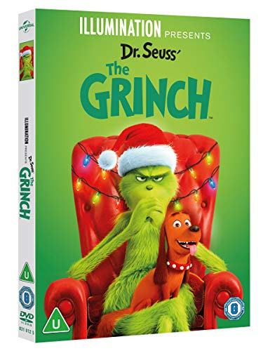 The Grinch [DVD] [2018]