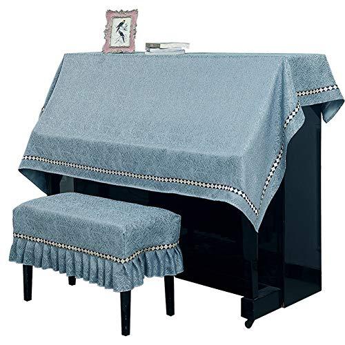 Aida Bz Upright Universal piano cover half cover stofdichte piano handdoek, universele minimalistische ontwerp past de meeste piano maten