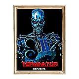 FANART369 Póster de Terminator Genisys #5, tamaño A3, diseño de fanart original para pared, 29,7 x 42 cm, sin bordes
