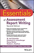 essentials of assessment report writing 2nd edition