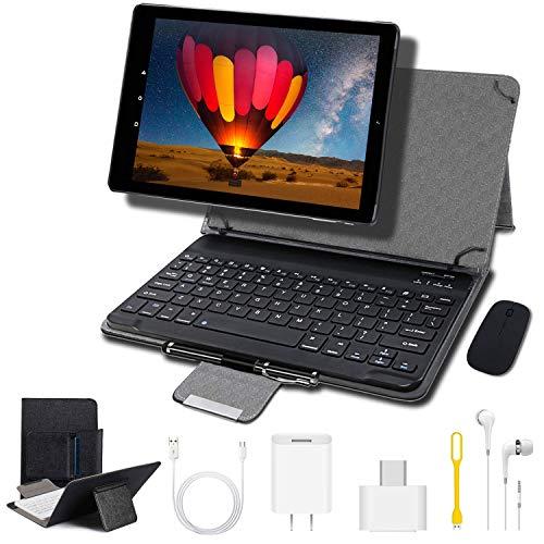 4G Tablets 10.1 Pulgadas, Tablet PC Android 9.0 4GB RAM + 64GB ROM, 8MP Cámara 8000mAh Batería Cuatro nucleos Moviles Buenos o Tablets Puede Llamar Apoyo Dual SIM WiFi/OTG (Negro)