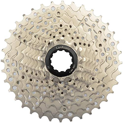 LANXUANR 10 Speed Mountain Bicycle Cassette Fit for MTB Bike, Road Bicycle,Super Light (11-36T)