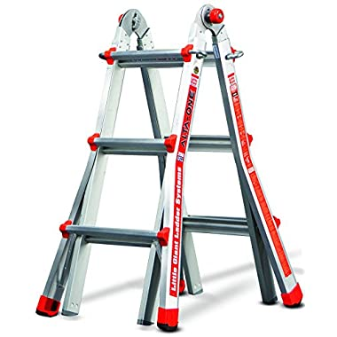 Little Giant Ladder Systems 14010-001 13-Feet 250-Pound Duty Rating Alta-One Model 13 Ladder System