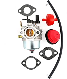 MOPASEN 801396 CCR3650 CCR2450 Carburetor with Primer Bulb Fuel Filter Gaskets for Briggs & Stratton 801233 801255 Snow Blower Thrower Toro R-TEK 2-Cycle Engines 084132 084133 084233 084332