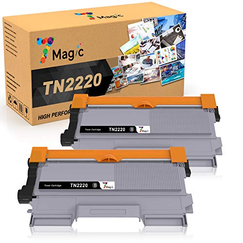 7Magic TN2220 TN2210 Kompatibel Toner, Kompatibel für Brother TN2220 TN2210 für Brother MFC-7360N MFC-7360 MFC-7460DN DCP-7055 DCP-7055W DCP-7070DW DCP-7065DN HL-2240 HL-2250DN FAX-2840