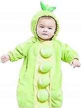 Baby Plush Peapod Bunting Costume