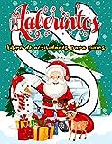 Laberintos: Navidad Libro de Actividades laberintos para niños 4-8 años - Juegos laberintos...