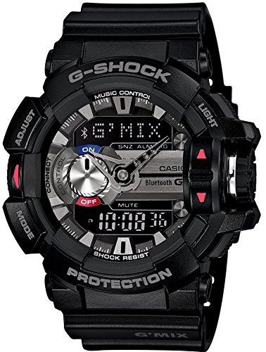 [カシオ] 腕時計 ジーショック G'MIX スマートフォンリンクモデル GBA-400-1AJF ブラック